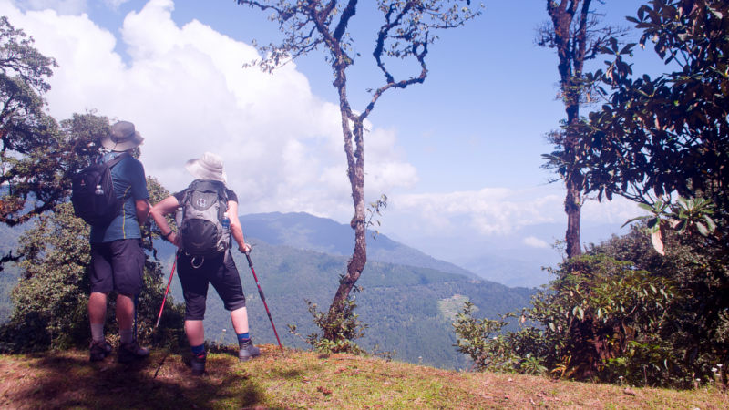 India Nepal hike Smile Panda Tours1